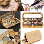 3D Shimmer 8 Colors Makeup Eyeshadow Powder Palette Glitter Cosmetic Eye Shadow