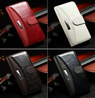 Luxury Flip Retro Mix Leather Case Wallet Pouch Cover For Apple iPhone Accessory