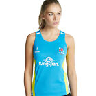 Women's Ulster Rugby Racer Back Vest - Cyan/Electric Lime (2016-2017)