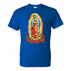Virgen De Guadalupe White T-Shirt (Sizes S-4XL) Ready to ship!