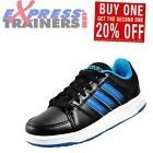 Adidas Neo Hoops VS Junior Kids Boys Classic Casual Trainers Black