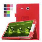 Slim Leather Wake Case Stand Cover For Samsung Galaxy Tab S2 A 8.0/9.7 Tab E