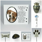 Cat / Dog Pet Memorial Tribute Plaque Stake Marker Spike Remembrance Ornaments