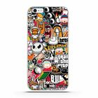 Stylist Cartoon Fashion Luxury Pattern TPU Soft Phone Back Case Cover for LG