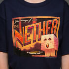 Minecraft Nether Postcard T-Shirt Youth