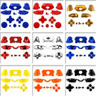 Full Button Sets Replacement Part for Microsoft Xbox One Controller Chrome Solid
