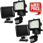 22/60LED Outdoor Garden Solar Motion Sensor Security Flood Light Spot Lamp Y LOT