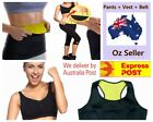 Hot Shapers Sport Slimming Fitness Stretch Pant+Vest+Belt Free Express shipping
