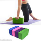 Eva Yoga Block Brick Foaming Foam Home Exercise Practice Fitness Gym Sport Tool