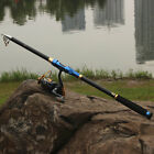 Telescopic Rod and Reel Sea Spinning Fishing Poles Saltwater Fishing Reel Combo