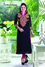 Designer Embroidery Kurti for Partywear with Goergette fabric S058