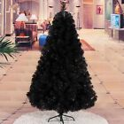 Christmas Tree Xmas Colorado Spruce Black 5ft 6ft 7ft Free Delivery Metal Stand