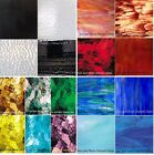 Spectrum & Wissmach Stained Glass Sheets - Variety Packs (8