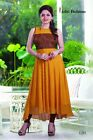 Designer Embroidery Kurti for Partywear with Goergette fabric S042