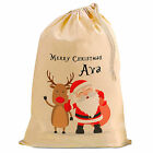Personalised Christmas Present Gift, Santa Sack, by inspiredcreativedesign