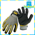 Caterpillar Latex Double Coated String Knit Work Garden Safety Glove GLOVES