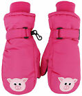 Children's Winter Fun Animal Character 3M Thinsulate Water Resistant Ski Gloves