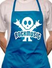 Rock Music BBQ Cooking Funny Novelty Apron