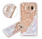 Bling Dynamic Liquid Sequins Clear Back Case Cover For Samsung Galaxy S7/S7 Edge