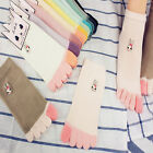 Fashion Girls 1Pair Five Toe Socks Five Fingers Winter Colorful Kids Gift