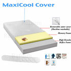 New Maxi Cool 4ft Small Double Memory Orthopaedic Foam Mattress 5+1 Free Cover