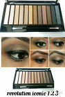 MAKEUP REVOLUTION ICONIC EYE SHADOW PALETTES URBAN DUPE NATURAL BROWNS NEUTRALS