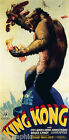 KING KONG, 1933 Vintage Movie Reproduction Poster or Canvas Print 13x27