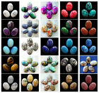 18x25mm Oval cabochon CAB Flatback Semi-Precious Gemstone Save $ in bulk