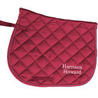 Harrison Howard saddle cloth numnah show dressage cob full size