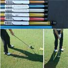 Pair(2 poles per pack) Golf Alignment Sticks Practice Putting Rod Training UK