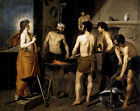Forge of Vulcan by Velazquez (Spanish myth art print)
