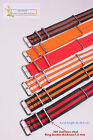 New22MM Nylon Watch band straps waterproof watch strap 60 color available 1pcs