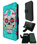 590 Mexican sugar skull Case Flip Cover For iphone 7 SE 4 5 5C 6S / 6S 7 Plus