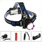 Rechargeable 5000LM XM-T6 LED Head Headlamp Headlight Torch AC/CAR Charger 18650