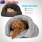 Cat/Dog Cute Cushion Cave Mat Sleeping Nest Bed Kennel Pet Warm Kitten House