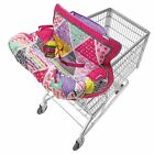 Shopping Cart Cover Baby Grocery Basket High Chair Protector Safety Harness NEW