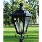 Victorian Style Lantern - use with Antique Garden Lamppost Lighting - Gothic