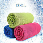 Ice Cold Enduring Gym Running Jogging Chilly Pad Instant Cooling Towel Sports