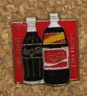 B9 PIN COCA COLE 1977 TWO LITERS BOISSON DRINK BOTTLE