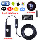 WiFi Inspection Camera 8 mm Borescope Endoscope Scope For iPhone 7/6s Samsung S6