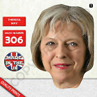 THERESA MAY PRIME MINISTER CARD FACE MASK MASKS FOR PARTY POLITICAL FANCY DRESS