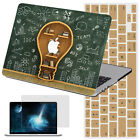 """New Look Laptop Rubberized Hard Case Skin Cover For Macbook Air Pro 11""""13"""" 15""""12"""