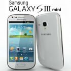 Samsung Galaxy S3 III Mini GT I8190T 8GB Unlocked White Blue Black