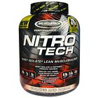 Muscletech Nitro Tech Whey Isolate+Lean Muscle builder-2 lbs/3.97lbs free ship