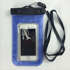 Portable Touchscreen Waterproof Underwater Pouch PVC Case Cover For Cell Phone