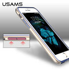 USAMS Premium TPU Case for iPhone 7 7 Plus Shockproof Plating PC edge Back Cover