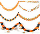 Halloween Party Home Ceiling Hanging Paper Decoration Supplies Gift Pumpkin