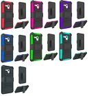 """Clip + Hybrid Armor Case Phone Cover for Jitterbug Smart Easy-to-Use 5.5"""""""
