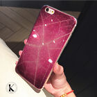 For iPhone 7 /7 plus/6s Luxury Bling Glitter Flash silicone Soft Case Cover Skin