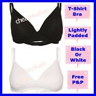 ※140※New Non-wired  T-Shirt Bra Softly Smooth Lightly Padded 32-38 A B C £3.99